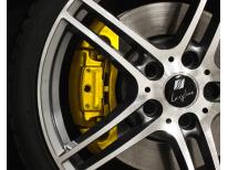 Kit peinture pour étriers de frein jaune