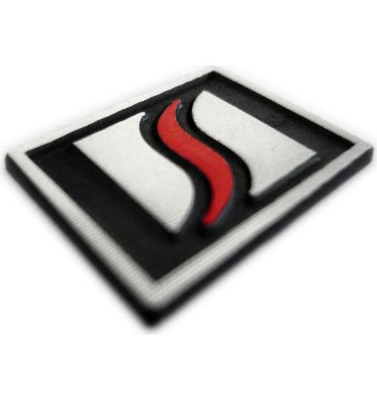 Logotipo Luxyline para el volante en aluminio