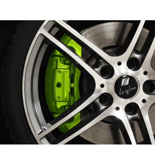 Painting kit for brake calipers green