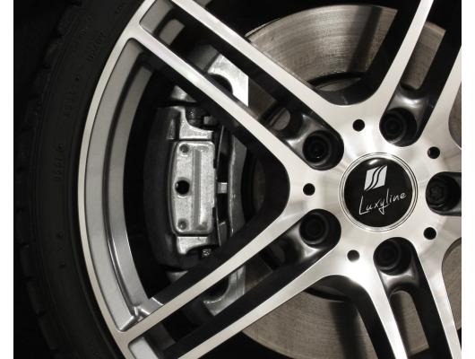 Painting kit for brake calipers metallic silver