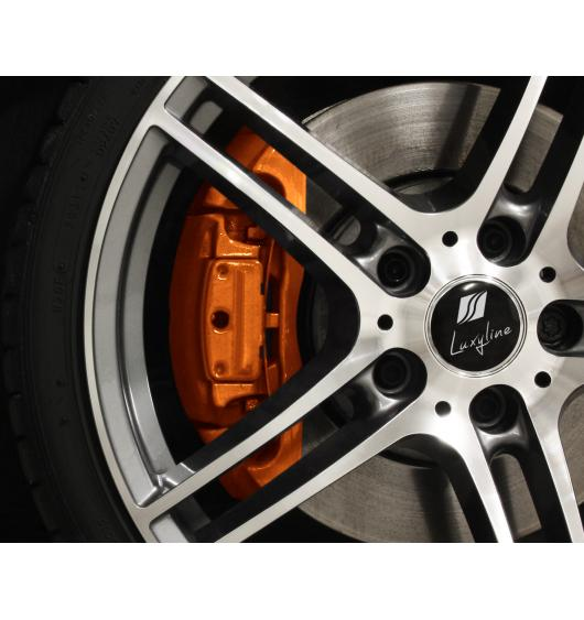 Painting kit for brake calipers orange