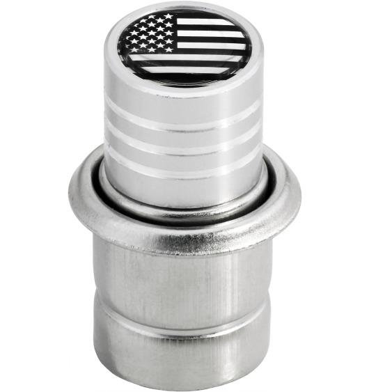 Zigarettenanzünder USA Vereingite Staaten Amerika chromfarbig